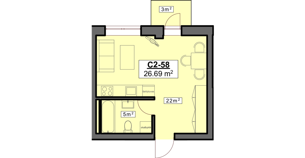 C2 58