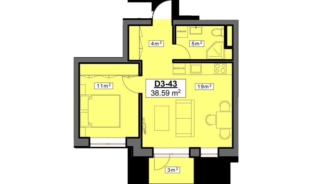 D3 43