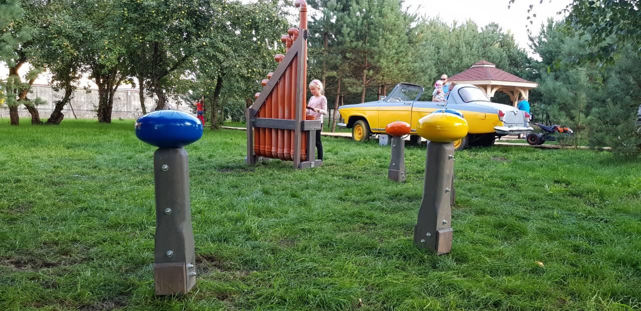 Muzikiniai Instrumentai Parke