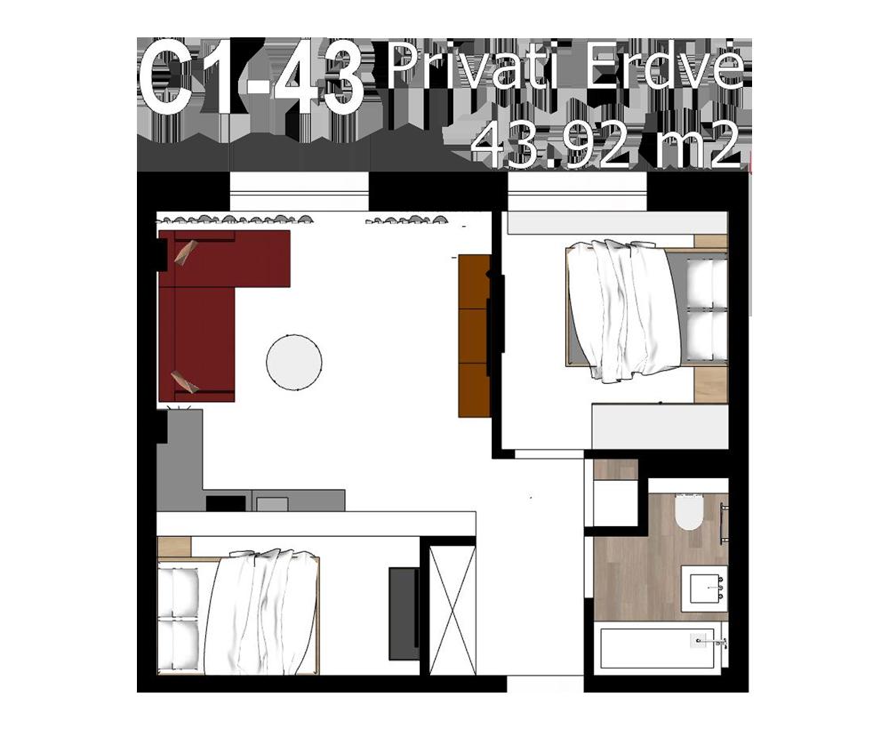 C1 43