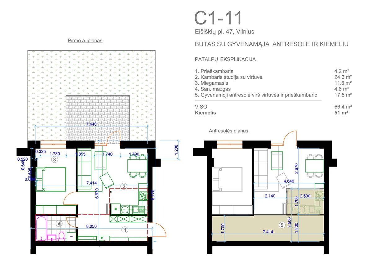 C1 11 1a Ir Antresole